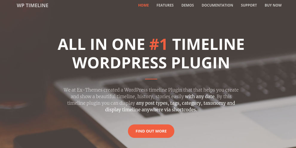 The WP Timeline plugin for WordPress.