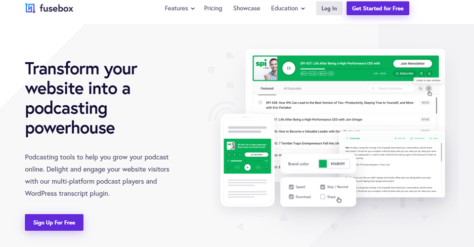 wordpress podcast plugin player