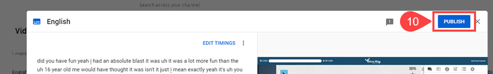 youtube edit