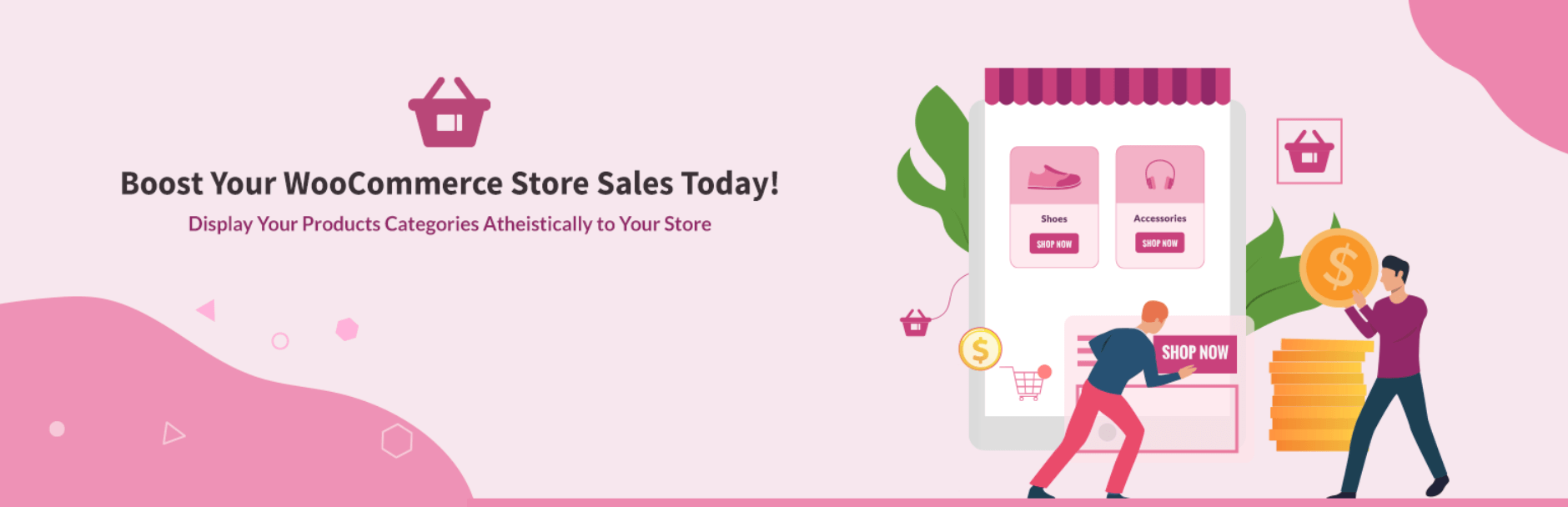 The Category Slider for WooCommerce plugin.