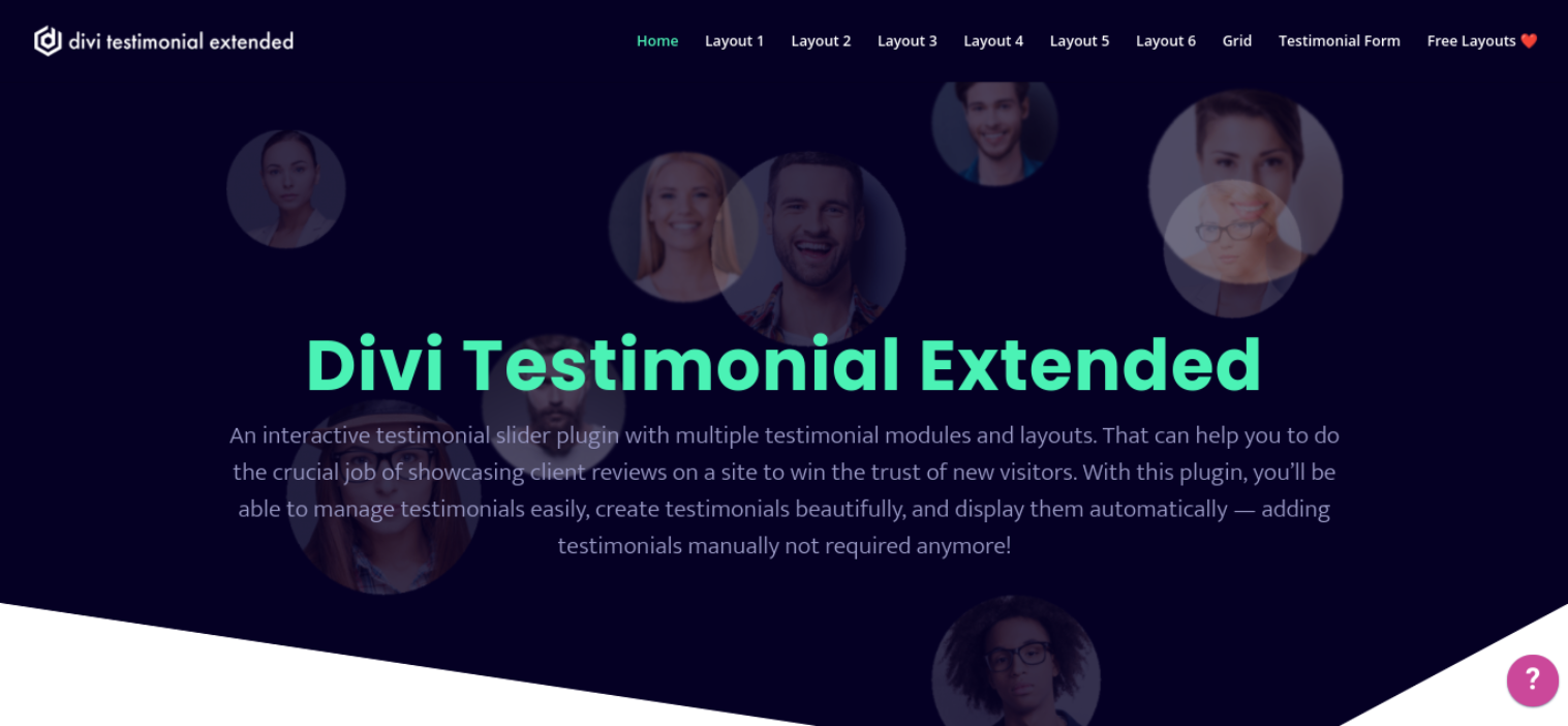 The Divi Testimonial Extended extension.