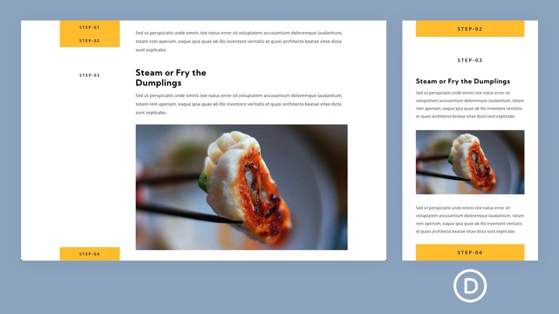How to Stack Sticky Headings on Scroll for Unique Anchor Link Navigation in Divi
