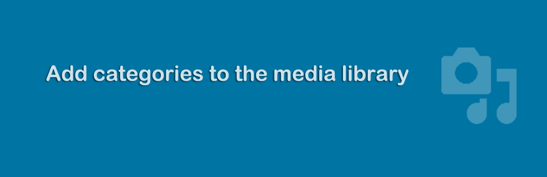 The Media Library Categories plugin.