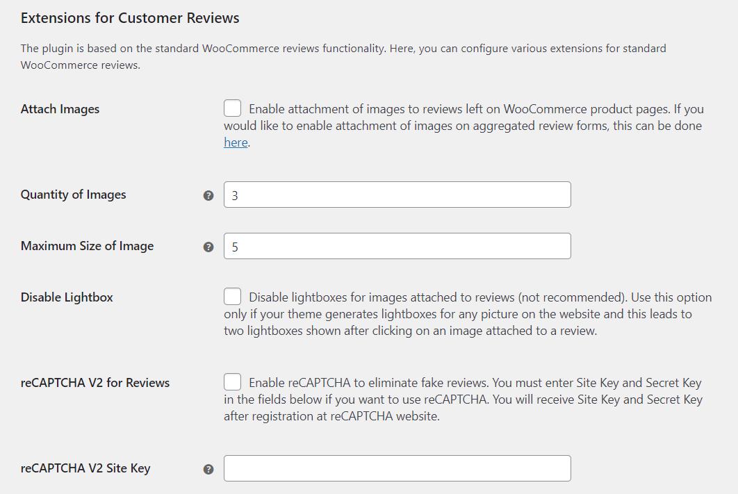 Modifying standard WooCommerce reviews
