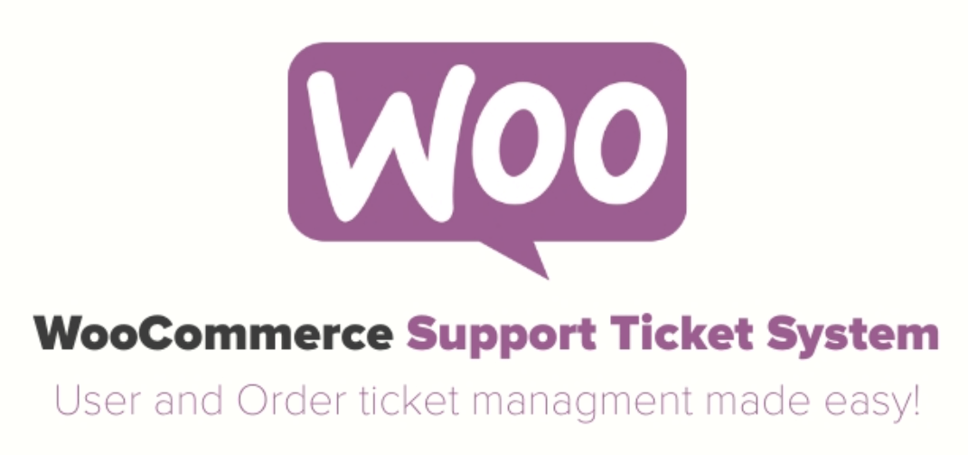The WooCommerce Support Ticket plugin