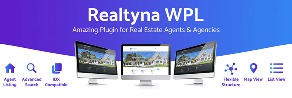 The WPL Real Estate plugin
