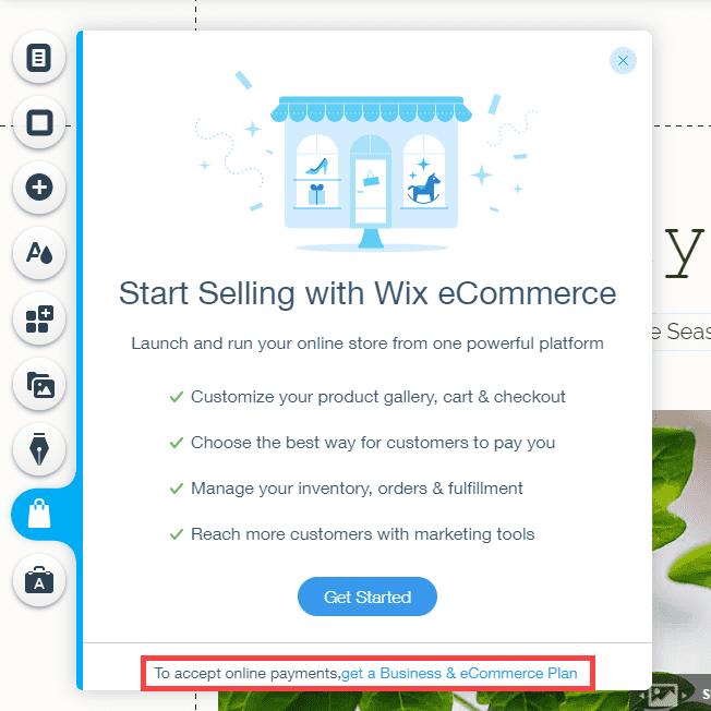 wordpress vs wix upselling for ecommerce