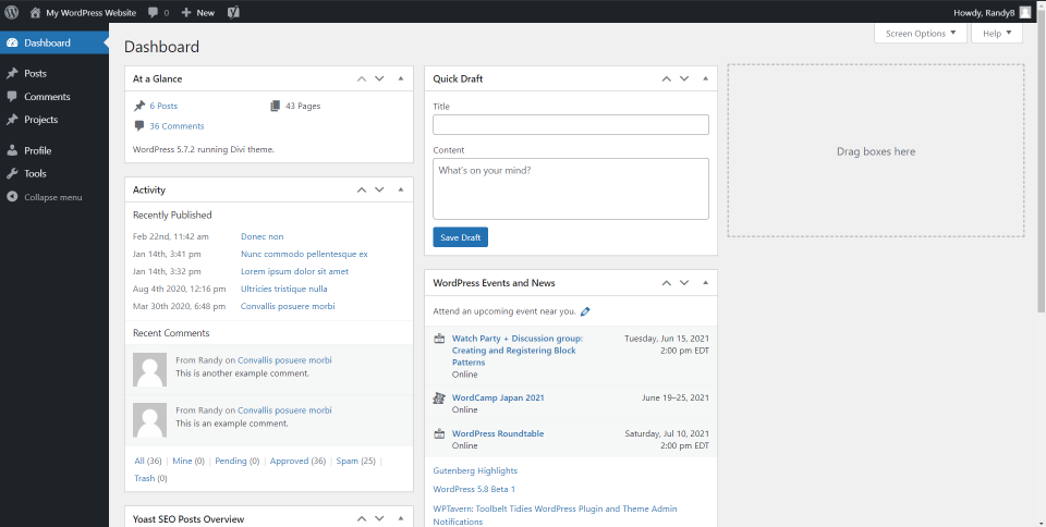 WordPress User Roles Contributor