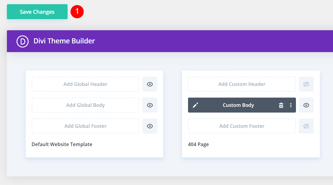 Creating a Custom 404 Page with the Divi Theme Builder