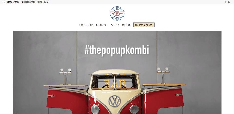 Pop-Up Kombi