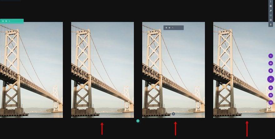 reveal image grid