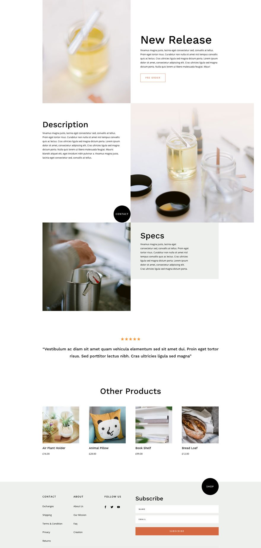 divi candle making layout pack