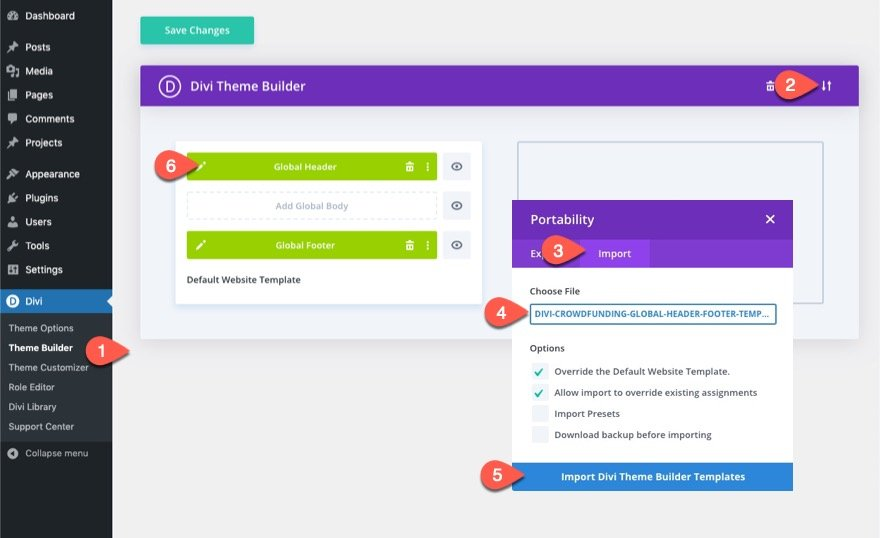 divi popup login form with login/logout buttons