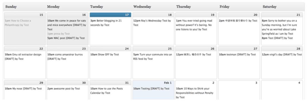 The Editorial Calendar WordPress plugin.