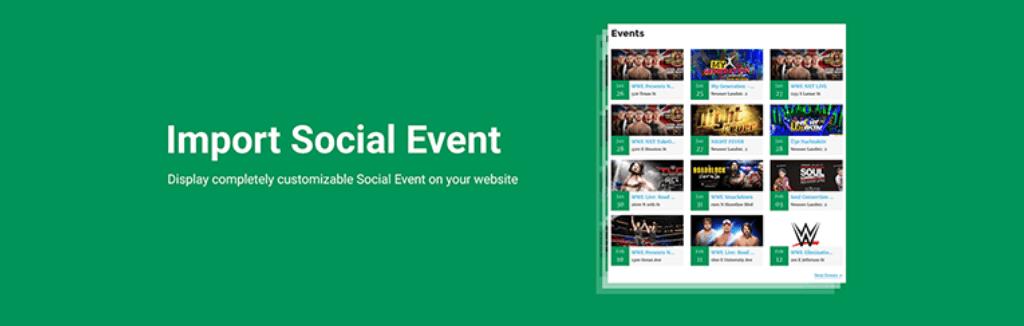 Import Social Event