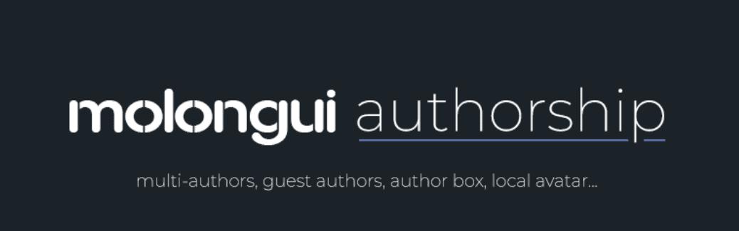 The Molongui Author Box plugin.