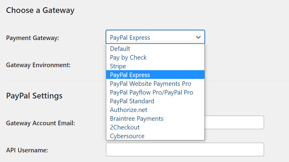 Configuring PayPal to work with Paid Memberships Pro