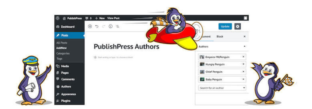 The PublishPress Authors plugin.