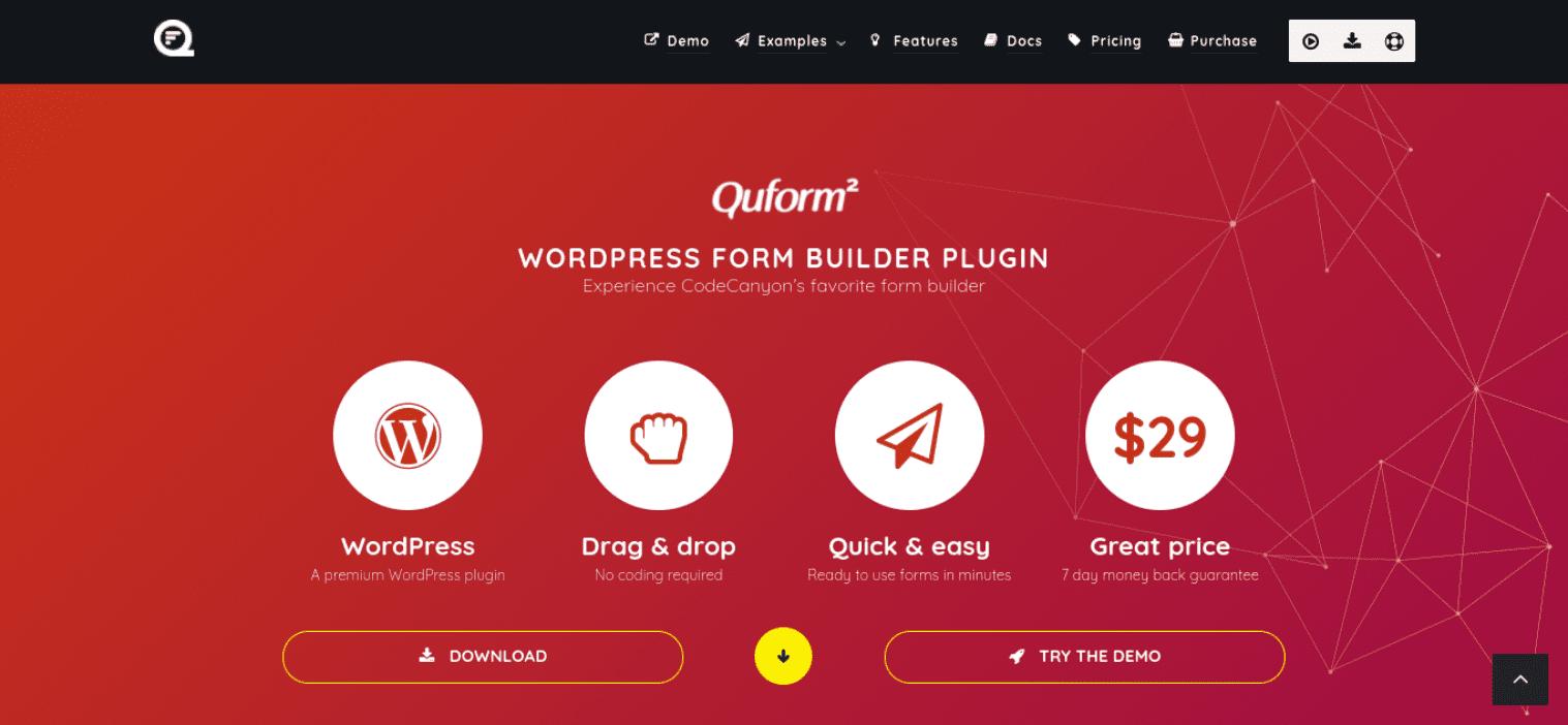 The Quform WordPress Contact Form plugin.