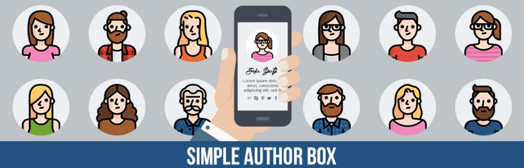 The Simple Author Box plugin.