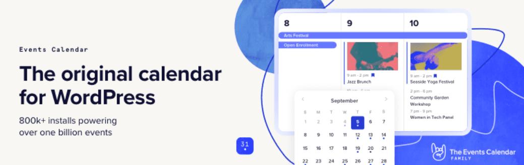 The Event Calendar plugin.