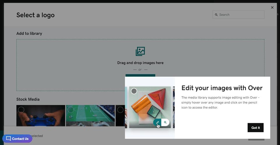 wordpress vs godaddy website builder image editing