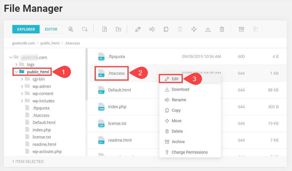 edit .htaccess to fix mixed content error in wordpress