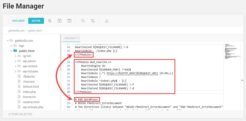 mixed content htaccess code