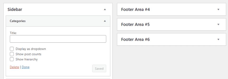 Display a WordPress Category with a Widget