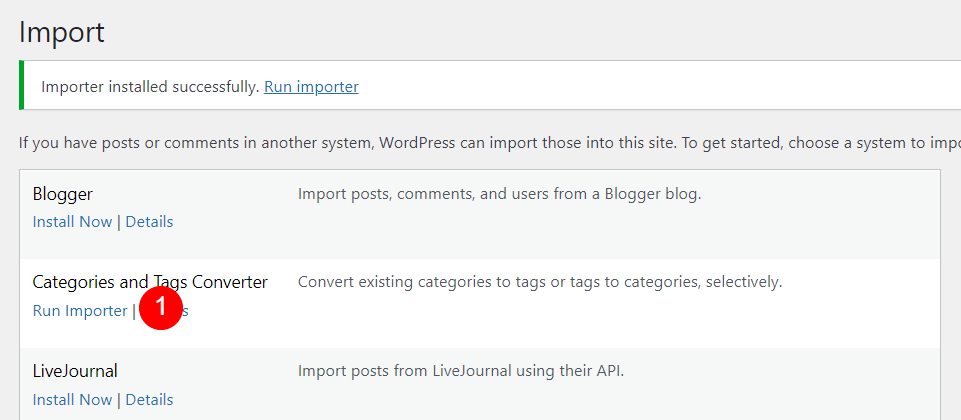 How to Convert Between a WordPress Category and Tag