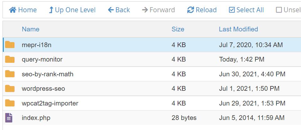 Restoring a Previous File