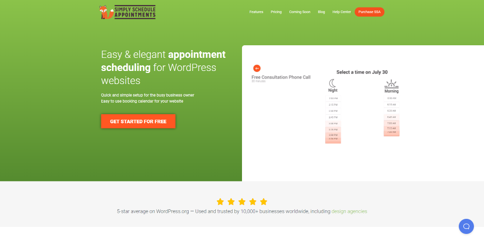Simply Schedule Appointments