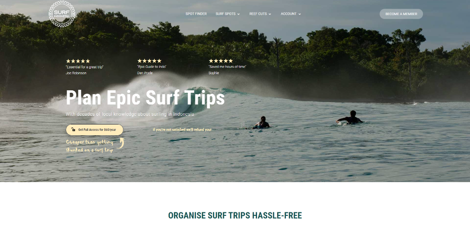 Surf Indonesia