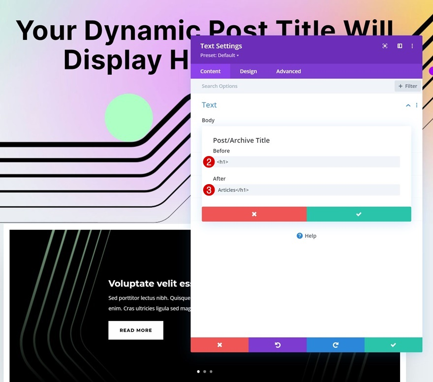social media consultant category page template