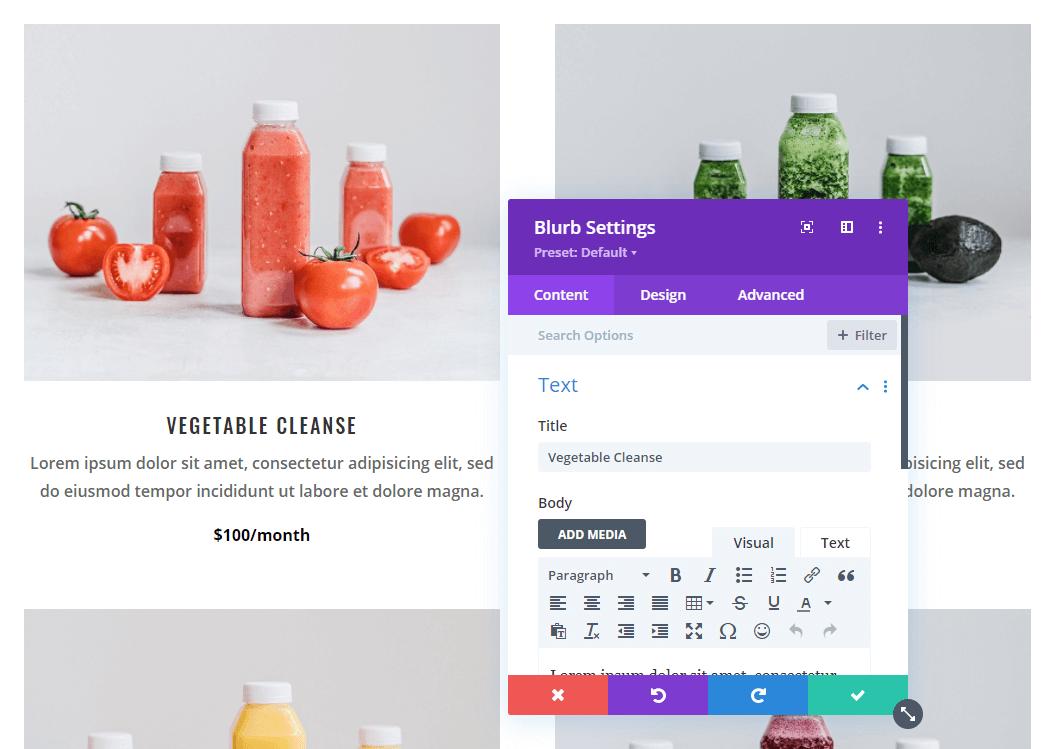 Customizing your store using Divi