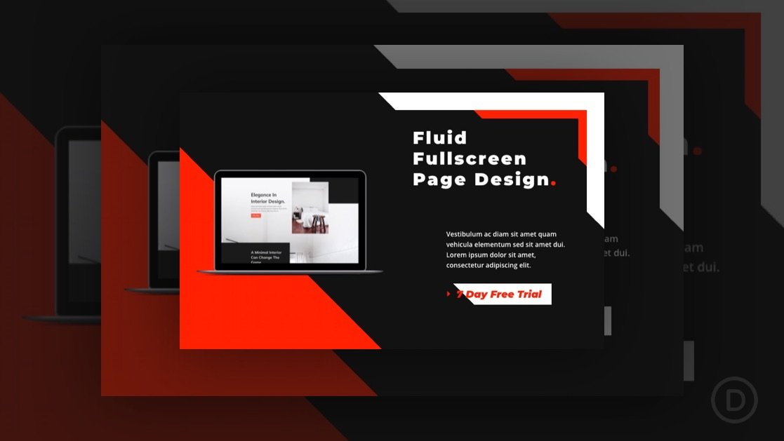 How to Design a Fluid Hero Section in Divi