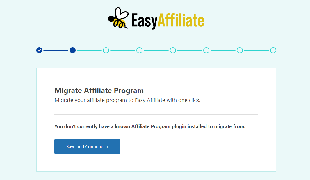Migrating from an existing plugin to Easy Affiliate