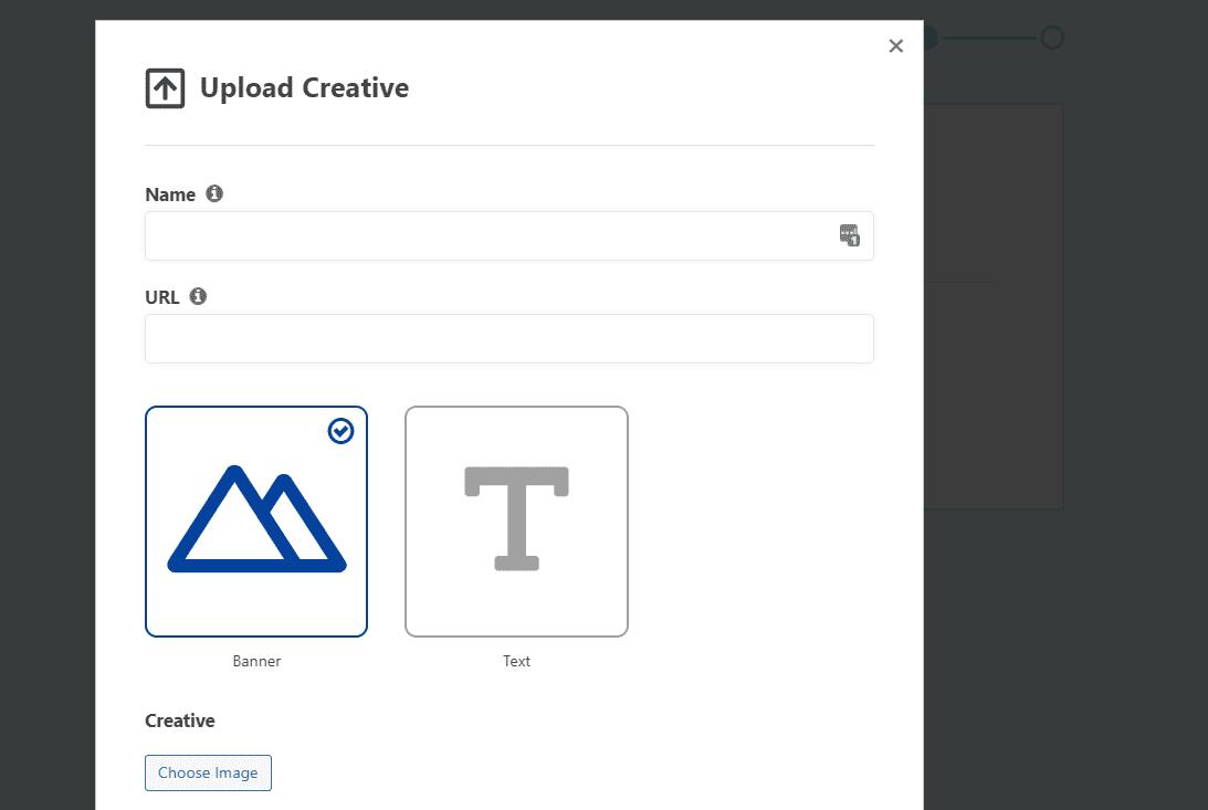 Uploading creative files