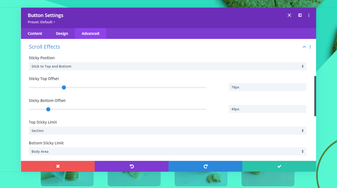 How to Make Any Divi Page Element Sticky