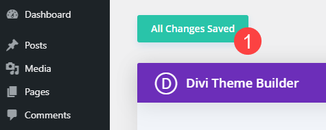 all changes saved