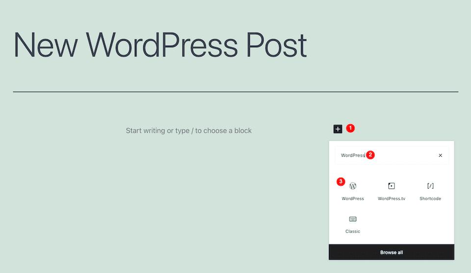 wordpress embed