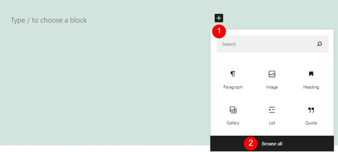 Adding a Header block in WordPress