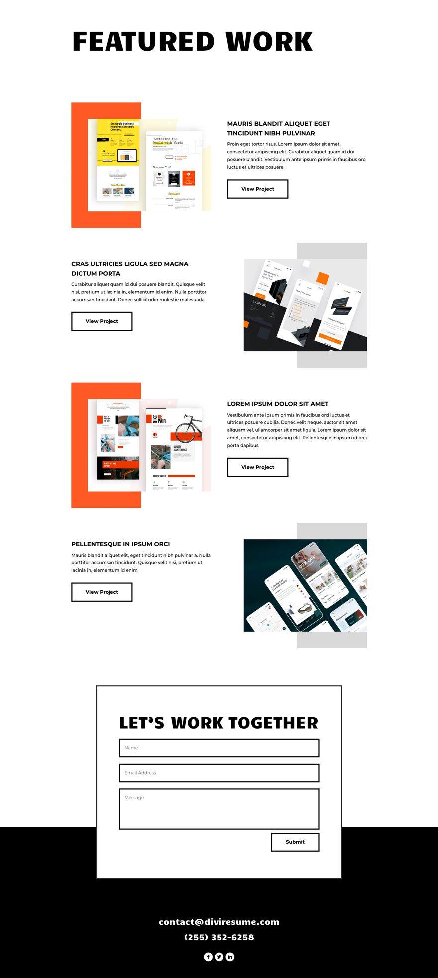 creative-cv-layout-pack