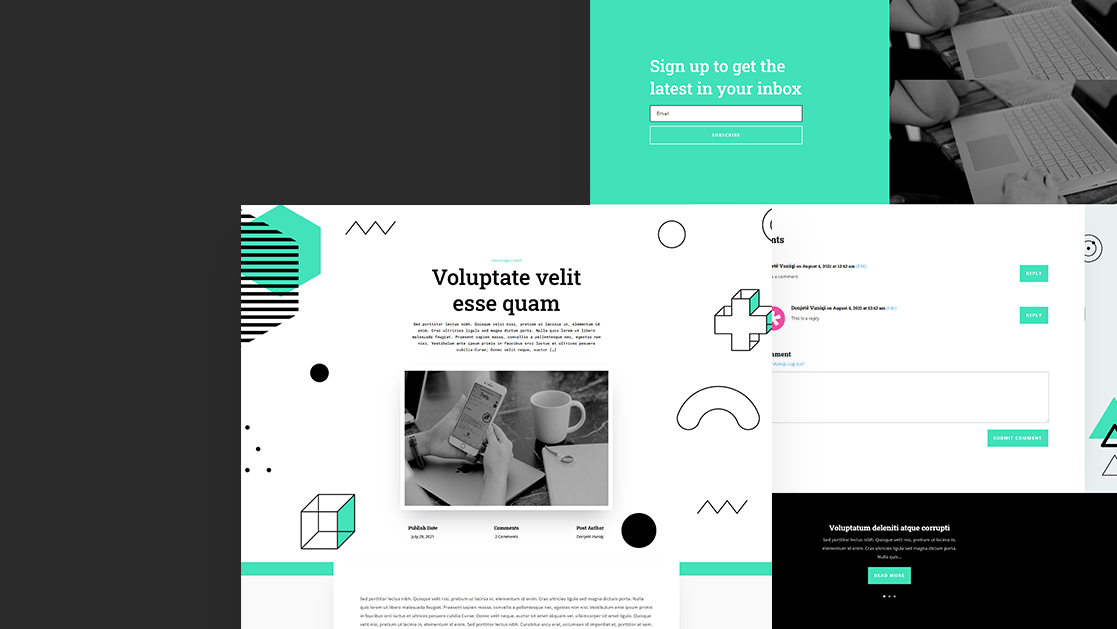 Download a FREE Blog Post Template for Divi's Data Science Layout Pack