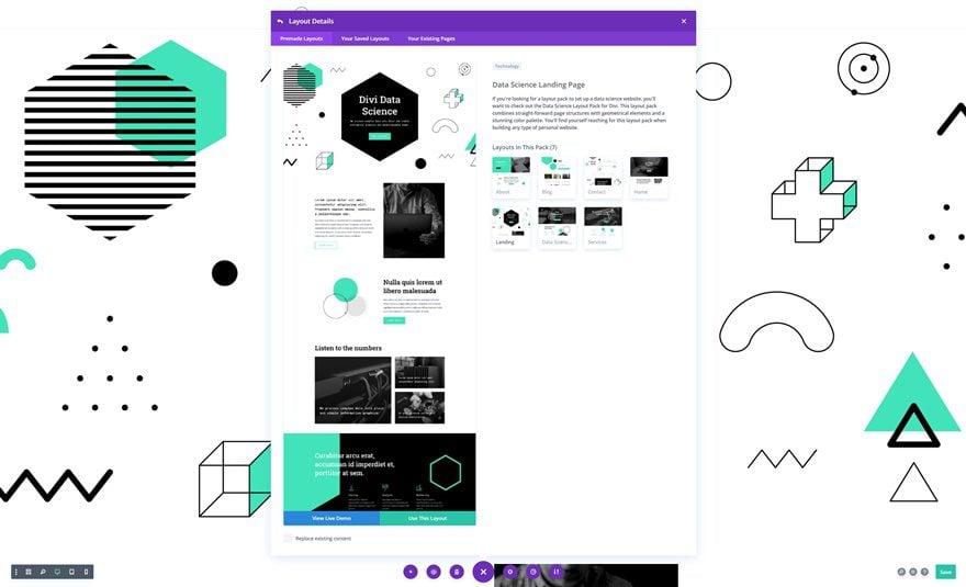 data science website