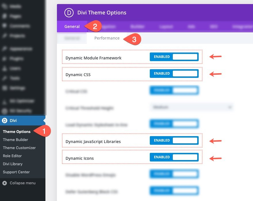 divi anti-bloat features boost site speed