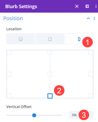 mobile offset and fixed location