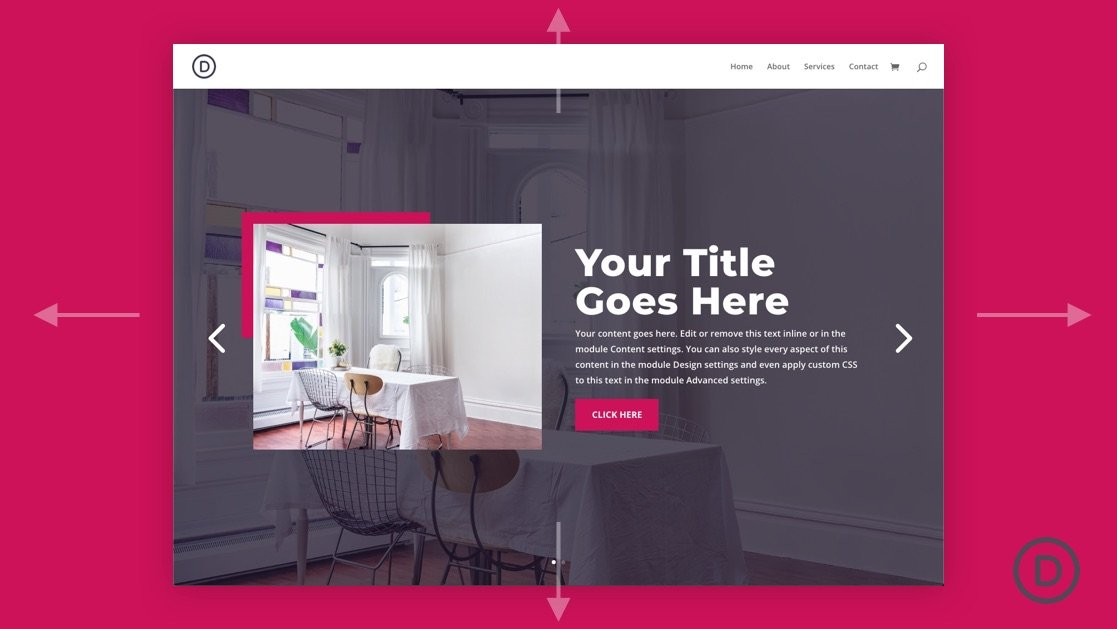 How to Create a Fullscreen Slider with Divi