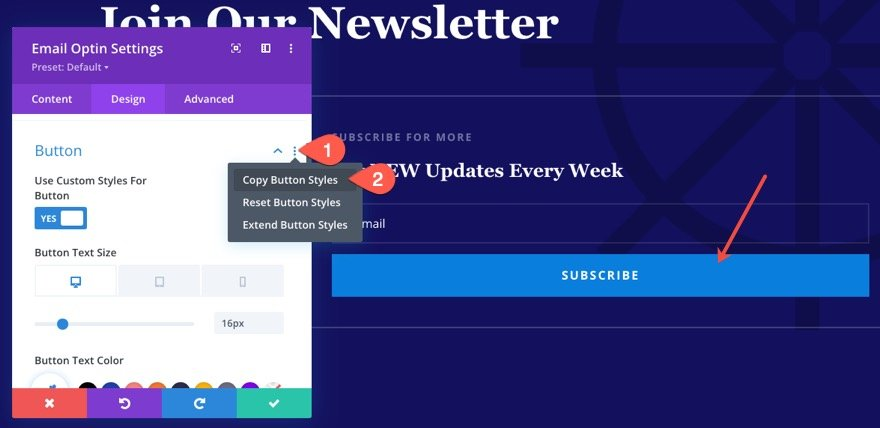 Member exclusive blog posts using Divi's condition options