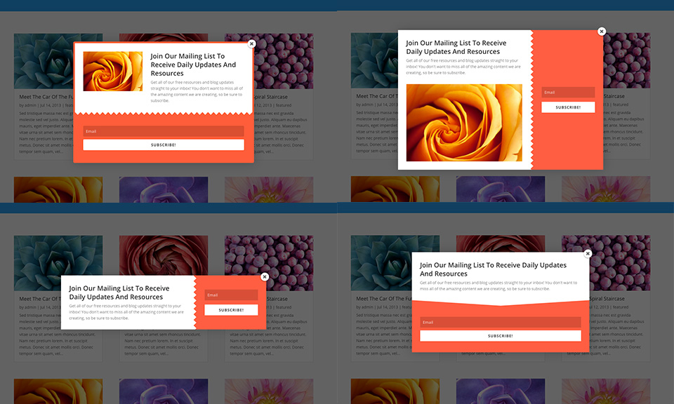 Utiliser la pop-up Opt-in de Bloom